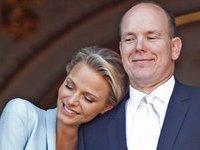 Монако отмечает королевскую свадьбу. monaco