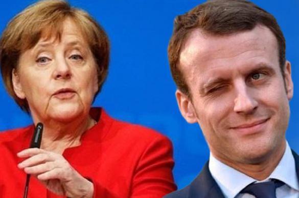 В Германии считают, что Меркель и Макрон дружат напоказ. 395035.jpeg