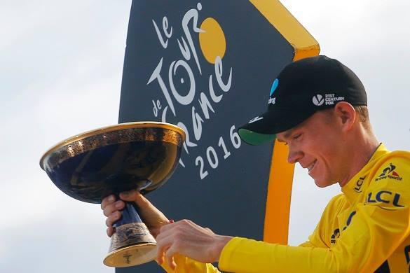 Крис Фрум выиграл Тур де Франс
