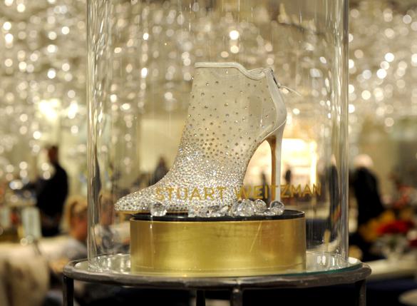 7 тыс. кристаллов Swarovski на туфли, или как диснеевскую