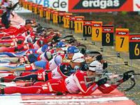 Российским биатлонистам не досталось медалей
