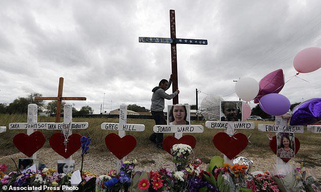 В Техасе впервые после расстрела в баптистской церкви соберутся люди. В Техасе впервые после расстрела в баптистской церкви соберутся