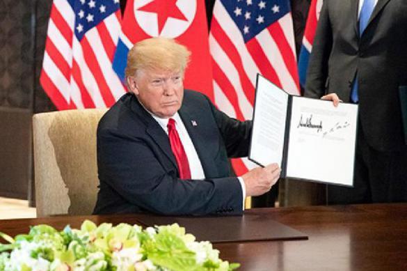Американский президент Дональд Трамп заявил, что ядерной угрозы со стороны КНДР больше не существует.. 388039.jpeg