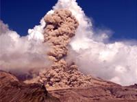 Камчатский вулкан Шивелуч выбросил многокилометровый столб пепла