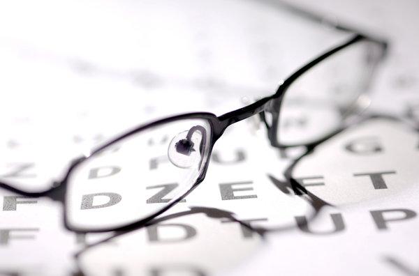 Как и что видит наш глаз?. Очки