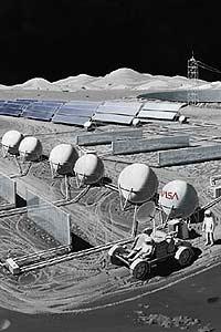 За Землей будут следить с Луны