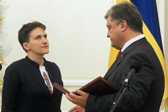 Савченко: в мире наших политиков считают попрошайками