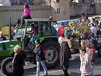 Фермеры заблокировали центр Парижа