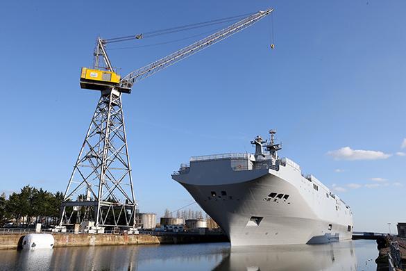 Франция грозит расторжением контракта по продаже кораблей
