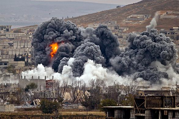 ВВС коалиции США уничтожили 30 беженцев, пытавшихся выбраться из