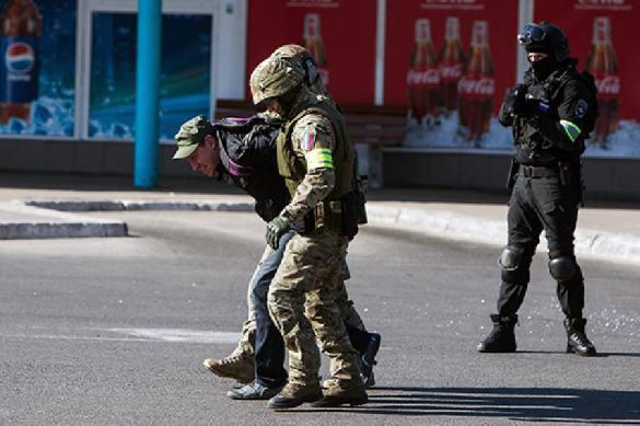 В центре Крыма задержан украинский шпион. В центре Крыма