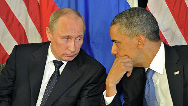 Путин поставил Обаме латинский мат. Путин поставил Обаме латинский мат.