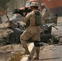 В Багдаде американский военнослужащий расстрелял пятерых солдат