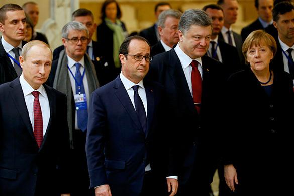 Олланд, Меркель и Порошенко, Путин проведут встречу