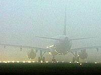 Знаменитый австралийский аэропорт окутал плотный туман