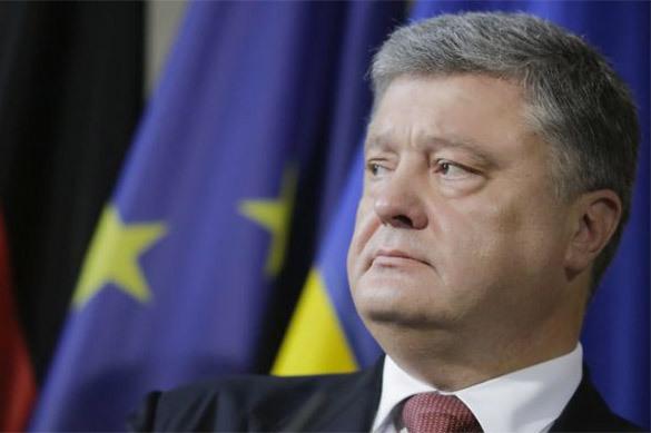 Порошенко поздравил спобедой навыборах нетого кандидата