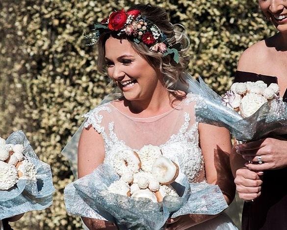 Свадебная мода: Пончики вместо цветов. 376046.jpeg