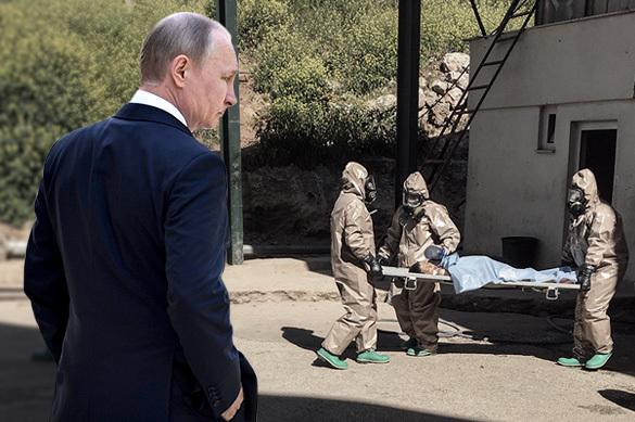 Путин заявил, что Россия выступает за расследование инцидента в
