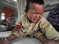 В китайском детском саду отравились десятки малышей