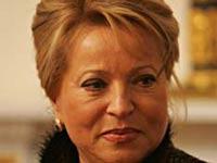 Валентина Матвиенко обнародовала свои доходы
