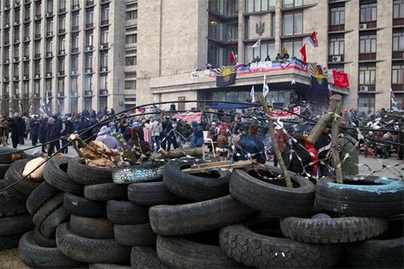 Третья годовщина захвата здания СБУ в Луганске. ЭКСПЕРТ