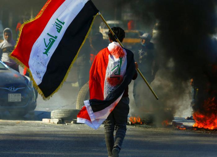 Ирак, протесты