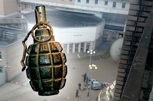 Гранату времен Второй мировой нашли в петербургском метро