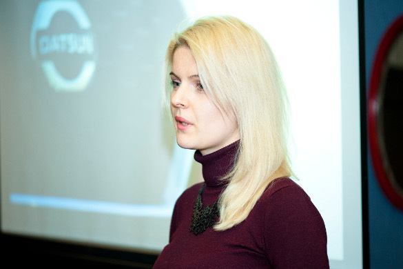 Представитель Ниссан Восток-Россия Лина Витковская