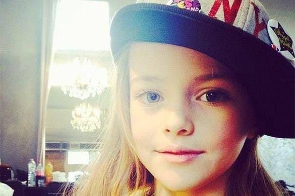 9-летнюю дочку российского футболиста признали самой красивой девочкой в мире. 305054.jpeg