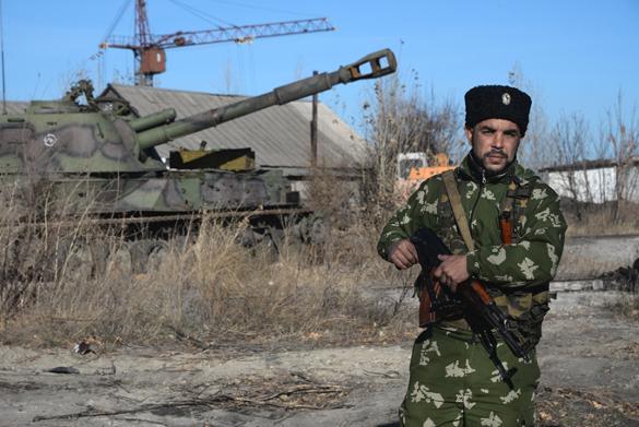 США выталкивают Новороссию из Украины. Украина, война на Украине, ДНР и ЛНР, Донбасс