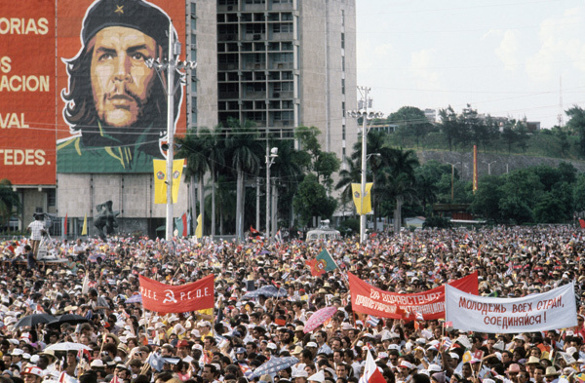 Латинская Америка: США отодвигают Россия и Китай. Портрет Че Гевары на фоне многотысячного митинга