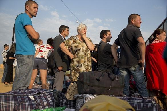 Украинский омбудсмен: государство толкает граждан Украины на смерть. беженцы граница