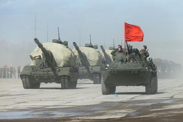 В Таджикистане применили БТР-82А