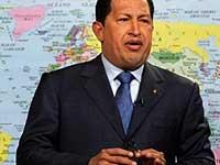 Чавес поблагодарил российское руководство за поддержку его