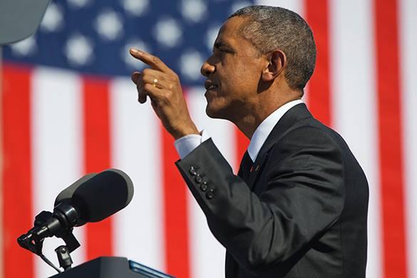 CNN: Предки Обамы были рабовладельцами. Барак Обама на фоне американского флага