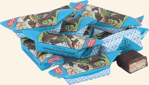 Русские конфеты «Мишка косолапый» запретили вЛатвии