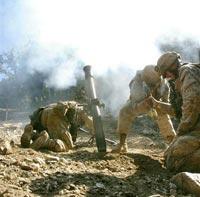 Пентагон: афганские боевики применяют фосфорные снаряды