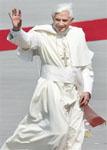 Папа Римский Бенедикт XVI прибыл с визитом в Кельн.