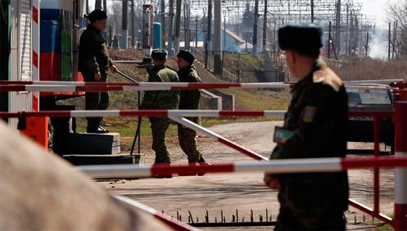 При пересечении границы Украины арестован российский военнослужащий. граница, пограничники, кордон, пропускной пункт