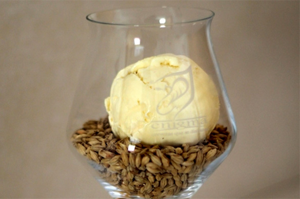 Испанцы создали пивное мороженое