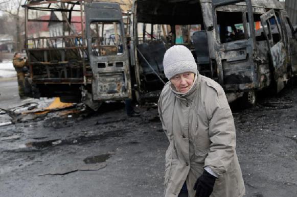 В центре Донецка произошел взрыв: есть пострадавший. В центре Донецка произошел взрыв: есть пострадавший
