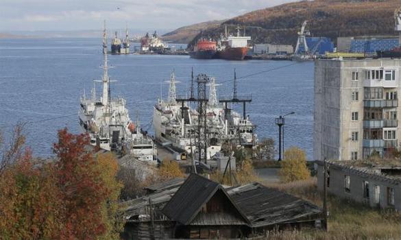 Мурманская область готовится к освоению Арктики. Вид Мурманска