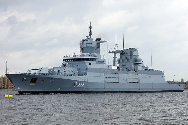 Впервые в истории: новейший немецкий фрегат вернули на верфь из-за брака. Впервые в истории: новейший немецкий фрегат вернули на верфь из-
