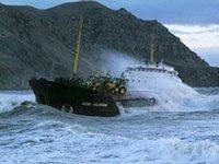 В Карибском море перевернулось судно с нелегалами из Гаити