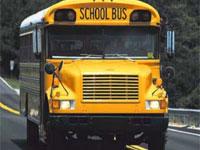 Голый американец захватил автобус со школьниками