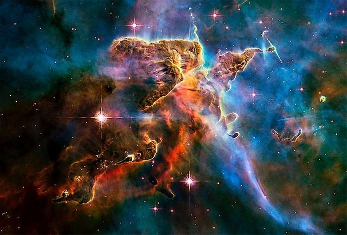 Астрофизики открыли десять туманностей, состоящих из молекул вод