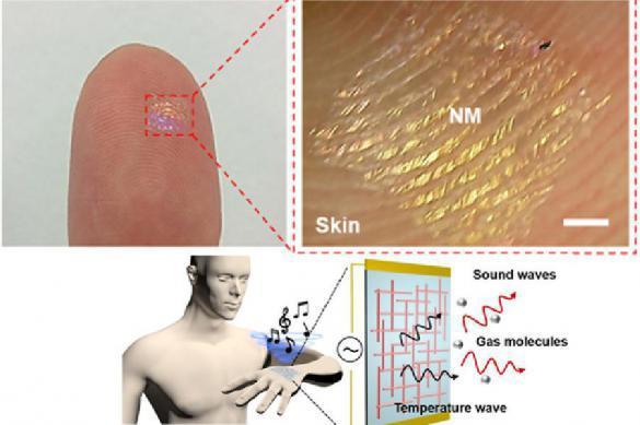 Ученые нашли способ превратить кожу человека в полезный гаджет