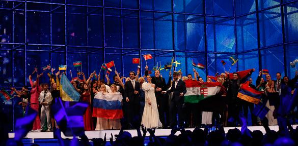 Евровидение: взгляд с украинских трибун. Голосования телезрителей Украины на конкурсе Евровидение