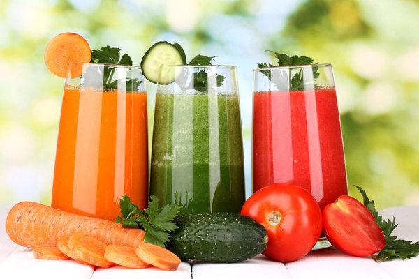 Главное правило осени - сок по утрам. овощные соки
