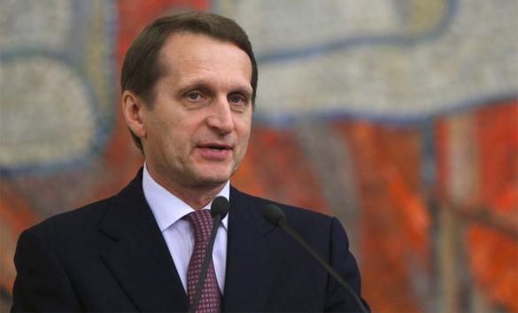 Сергей Нарышкин: Выборы на Украине -